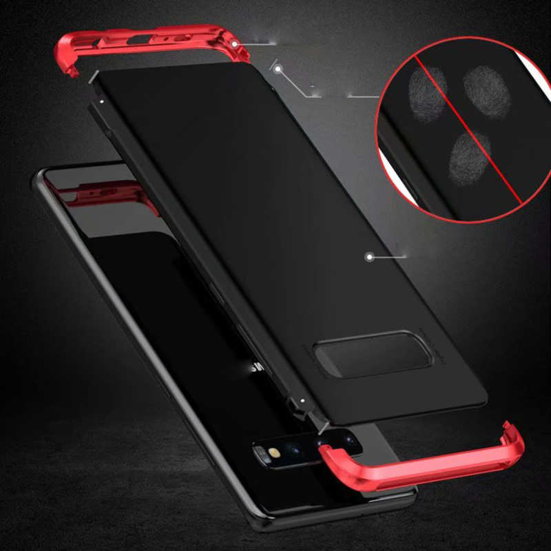 top quality For Samsung Galaxy S10 Plus Shockproof Hybrid Case - Black