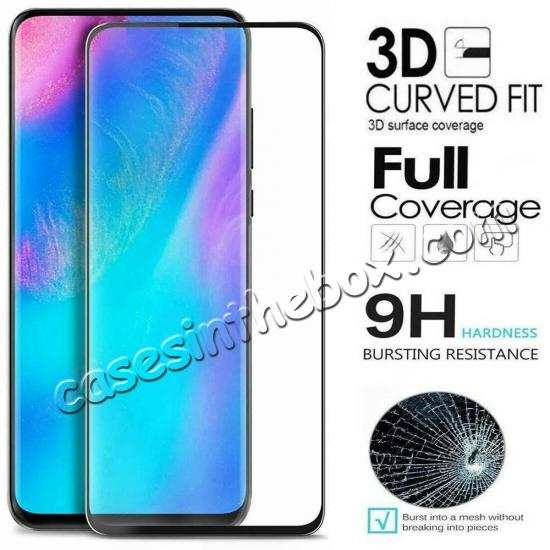 wholesale For Xiaomi Mi 9T 9H Full Cover Curved Tempered Glass Screen Protector