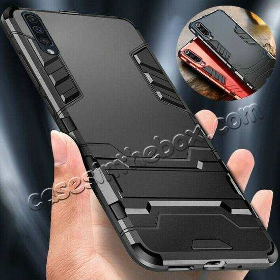 wholesale For Samsung Galaxy A50 Hybrid Armor Case Hard Shockproof Cover