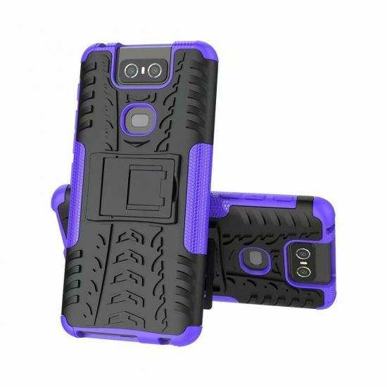 discount For ASUS Zenfone 6 ZS630KL / 6z / 6 2019 Case Shockproof Armor Kickstand Cover