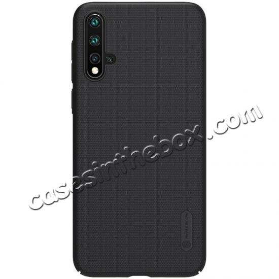 discount For Huawei Nova 5/Nova 5 Pro NILLKIN Slim Hard Plastic Shield Back Cover Case