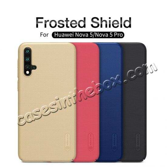 wholesale For Huawei Nova 5/Nova 5 Pro NILLKIN Slim Hard Plastic Shield Back Cover Case