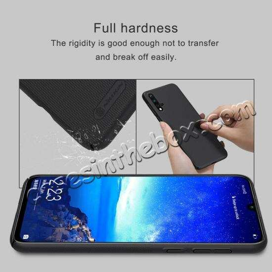 cheap For Huawei Nova 5/Nova 5 Pro NILLKIN Slim Hard Plastic Shield Back Cover Case