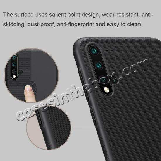 top quality For Huawei Nova 5/Nova 5 Pro NILLKIN Slim Hard Plastic Shield Back Cover Case