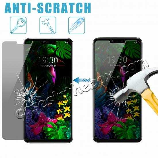 discount For LG G8 ThinQ / LG G820 Privacy Anti-Spy Tempered Glass Screen Protector