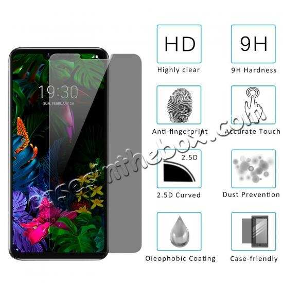 cheap For LG G8 ThinQ / LG G820 Privacy Anti-Spy Tempered Glass Screen Protector