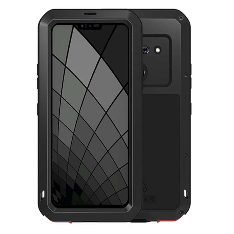 wholesale For LG G8S ThinQ Metal Shockproof Aluminum Case Cover - Black