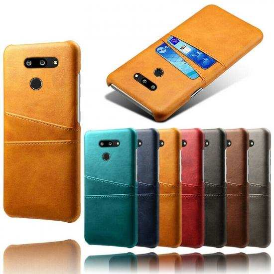 wholesale For LG G8 ThinQ Shockproof PU Leather Case Card Slot Back Cover