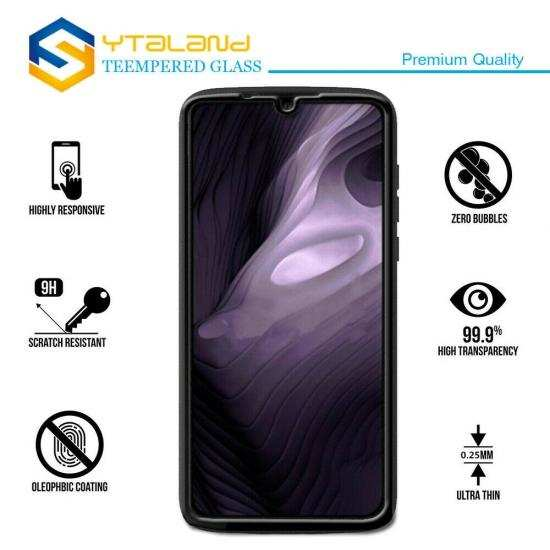 discount For Motorola Moto Z4 - Full Cover Tempered Glass Screen Protector