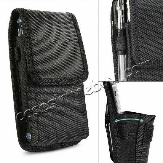 wholesale For Motorola Moto Z4 Horizontal Carrying Vertical Pouch Case Cover With Belt Clip Holster