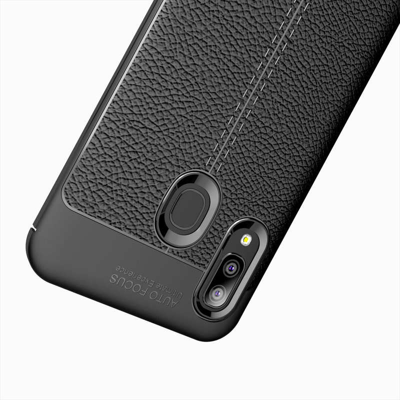best price For Samsung Galaxy A10e - Shockproof Case Tpu Soft Leather Cover