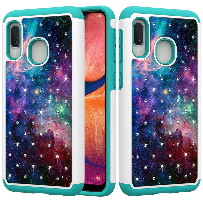 discount For Samsung Galaxy A10e Shockproof Rugged Armor Case Cover
