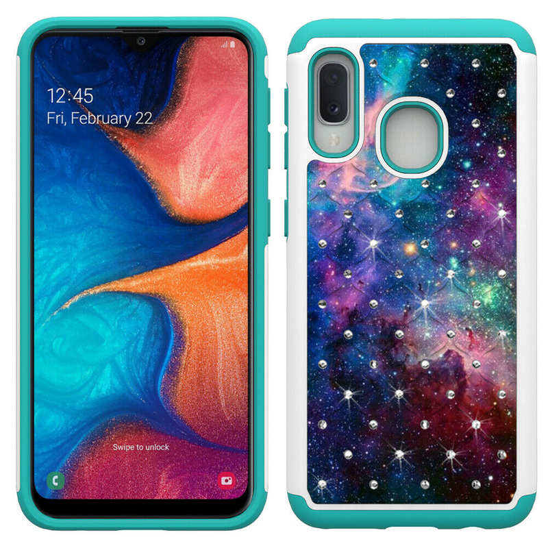 cheap For Samsung Galaxy A10e Shockproof Rugged Armor Case Cover