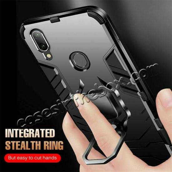 cheap For Samsung Galaxy A50 Magnetic Stand Ring Holder Armor Case Cover