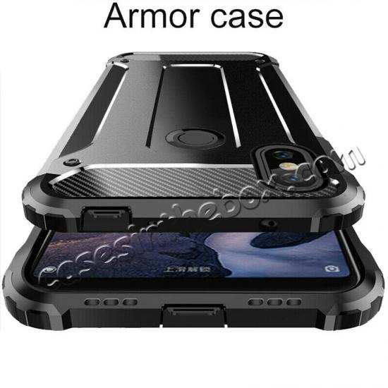 discount For Samsung Galaxy A50 Shockproof Armor Hybrid Case Cover