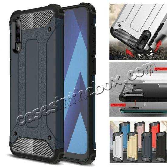 wholesale For Samsung Galaxy A50 Shockproof Armor Hybrid Case Cover