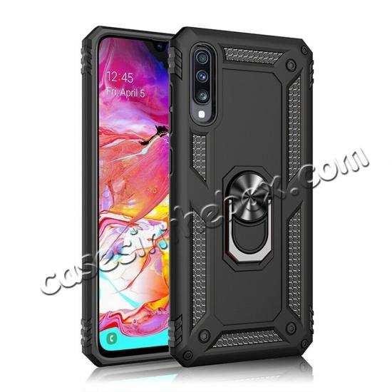 cheap For Samsung Galaxy A11 A71 5G UW A21 A01 A51 Phone Grip Holder Case Cover