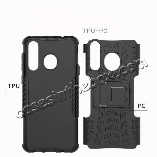 top quality For Samsung Galaxy A50 Shockproof Hybrid Armor Stand Back Case Cover