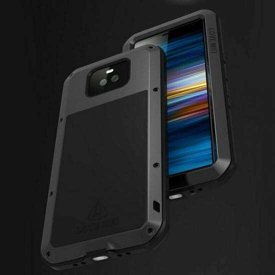 cheap For Sony Xperia 10 Plus Metal Shockproof Waterproof Case Cover