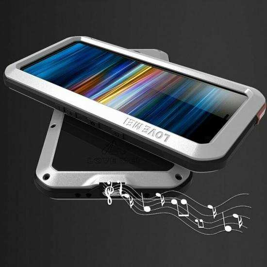 best price For Sony Xperia 10 Plus Metal Shockproof Waterproof Case Cover