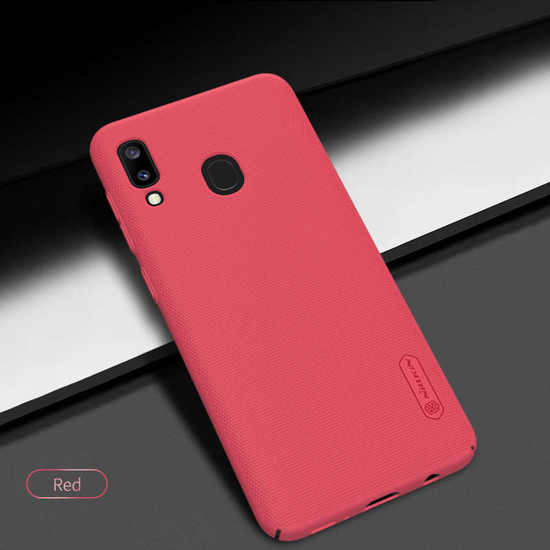 cheap NILLKIN For Samsung Galaxy A20 Case Shockproof Slim Hard Back Shell Cover