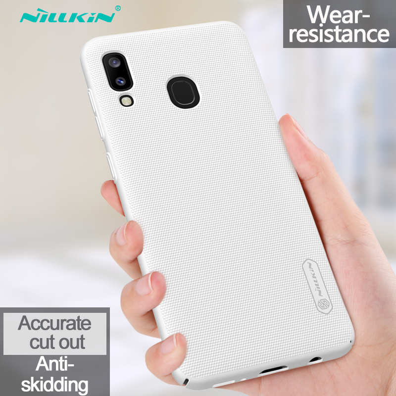 best price NILLKIN For Samsung Galaxy A20 Case Shockproof Slim Hard Back Shell Cover