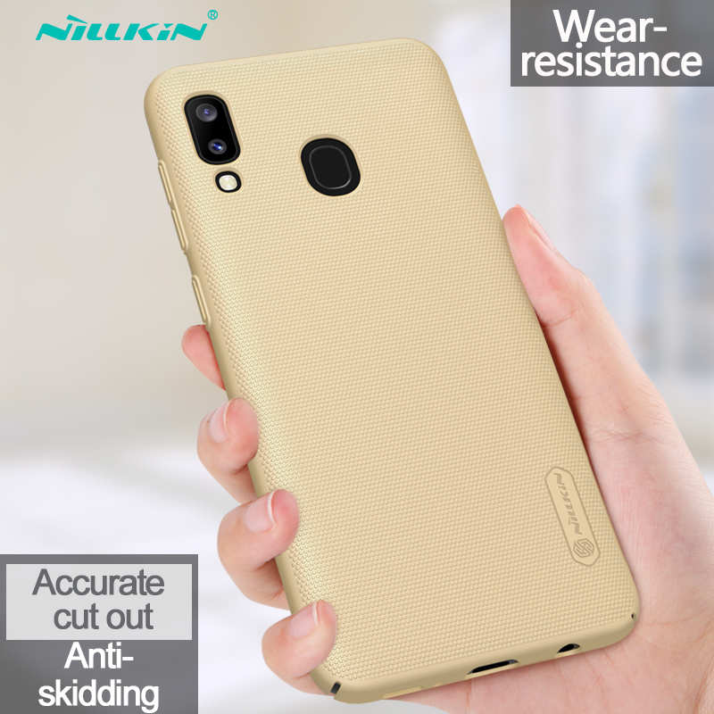China leading wholesale NILLKIN For Samsung Galaxy A20 Case Shockproof Slim Hard Back Shell Cover