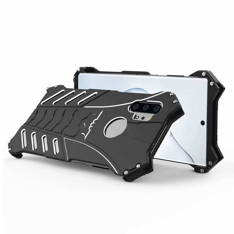 discount Shockproof Aluminum Metal Case for Samsung Galaxy Note 10 Pro
