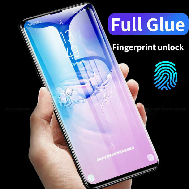 wholesale For Samsung Galaxy Note 10 / 10+ / 10+ 5G Full Glue 9D Tempered Glass Screen Protector