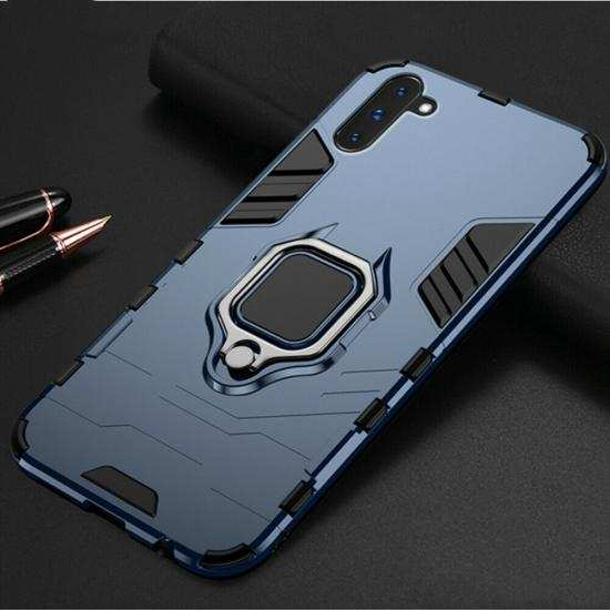 wholesale For Samsung Galaxy Note 10 Plus Shockproof Hybrid Magnetic Ring Stand Case Cover