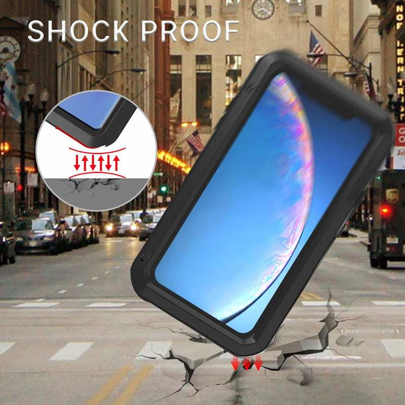 best price Waterproof Shockproof Metal Aluminum Gorilla Case for  iPhone 11 / 11 Pro Max - Black