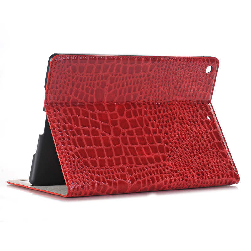wholesale For iPad 7th 8th Gen 10.2 Crocodile Leather Smart Cover Case
