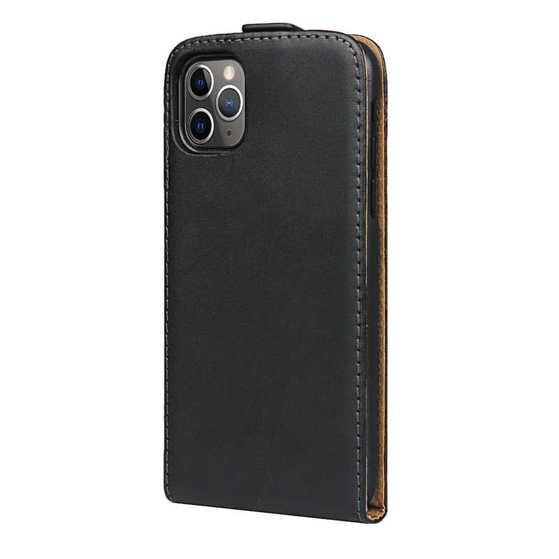 cheap For iPhone 11 Pro Max Magnetic Closure Vertical Flip Leather Case Cover