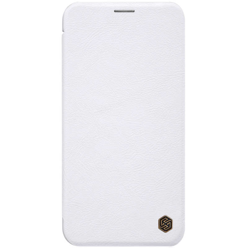 cheap Genuine Nillkin Flip Wallet Leather Case Cover For iPhone 11 Pro - White
