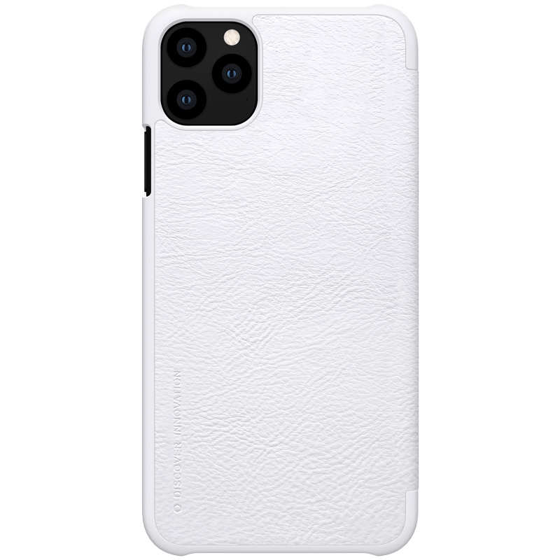 wholesale Genuine Nillkin Flip Wallet Leather Case Cover For iPhone 11 Pro - White