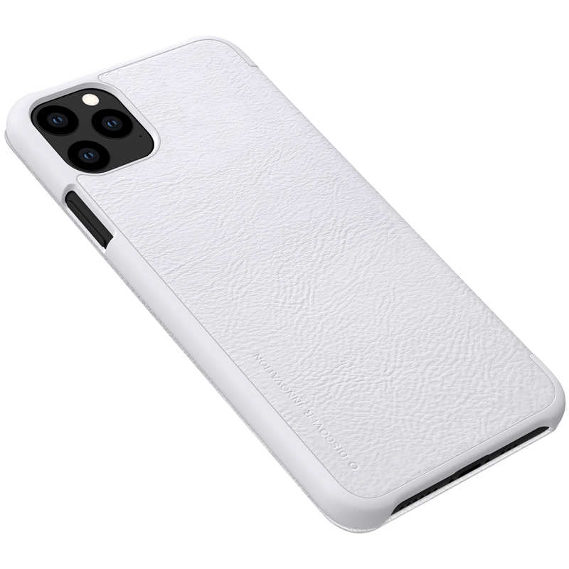 top quality Genuine Nillkin Flip Wallet Leather Case Cover For iPhone 11 Pro - White