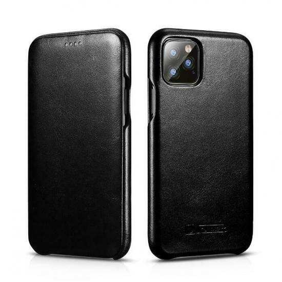 discount ICARER Cowhide Genuine Leather Case Cover For Apple iPhone 11 Pro Max