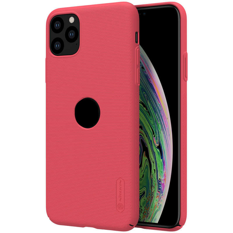 wholesale Nillkin For iPhone 11 Pro Frosted Matte Shield Hard PC Shell Cover Case - Red