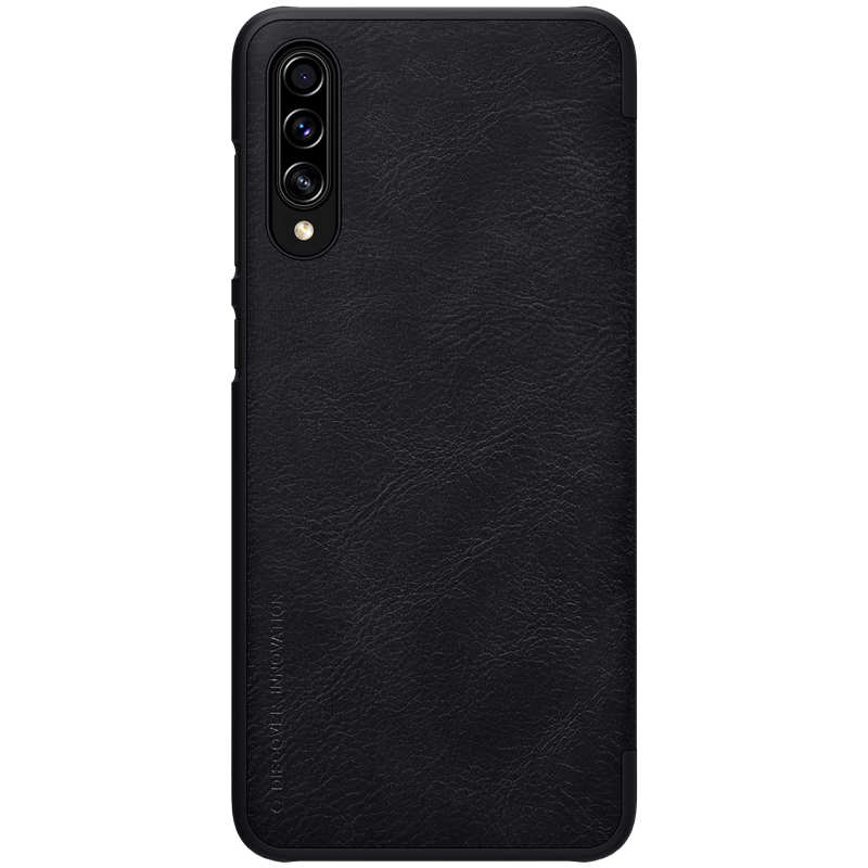 discount Nillkin Qin Series Flip Leather Card Slot Case Cover For Samsung Galaxy A70S - Black