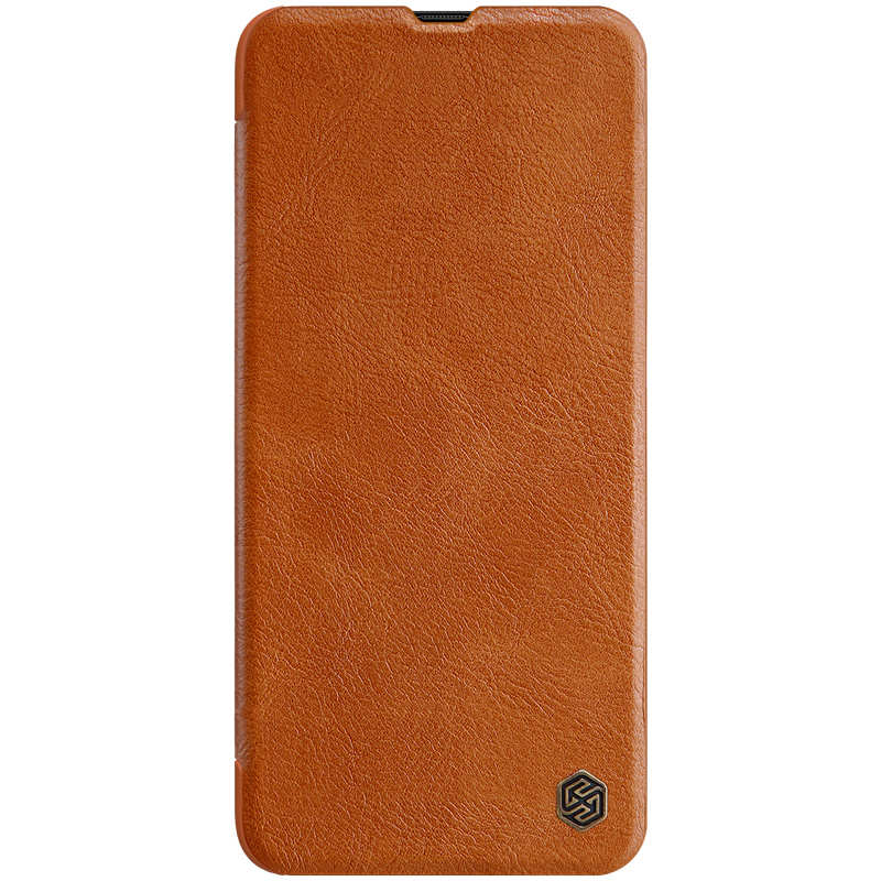 wholesale Nillkin Qin Series Flip Leather Card Slot Case Cover For Samsung Galaxy A70S - Brown