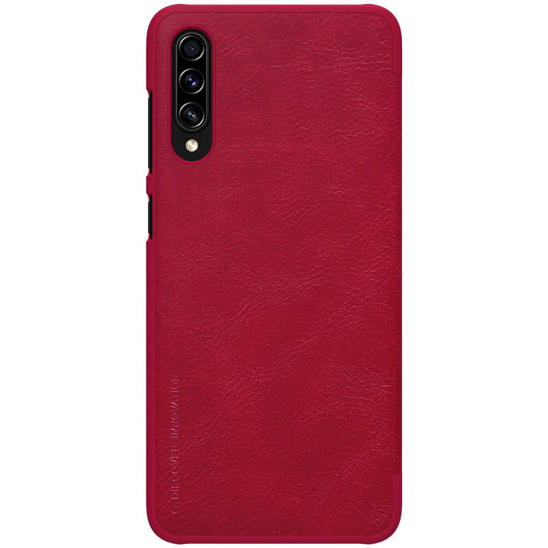 discount Nillkin Qin Series Flip Leather Card Slot Case Cover For Samsung Galaxy A70S - Red