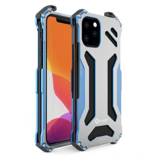 wholesale R-just Shockproof Metal Aluminum Case Cover For iPhone 11 Pro Max