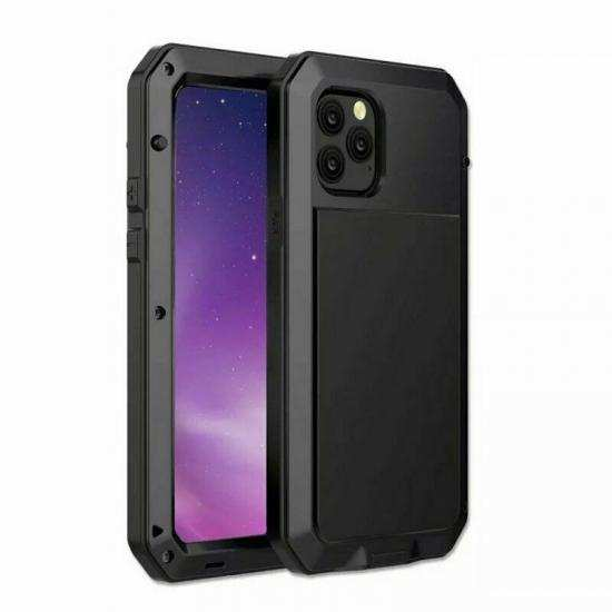 cheap Shockproof Gorilla Glass Metal Aluminum Bumper Case For iPhone 11 Pro Max