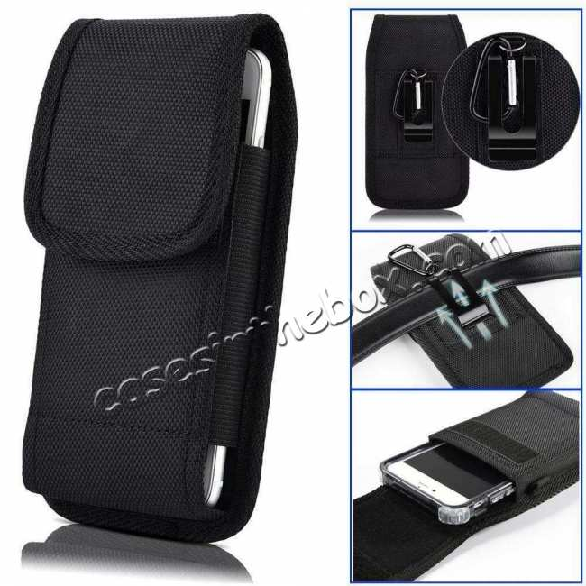 wholesale For Samsung Galaxy A71 A51 5G WU A21 A11 A51 Belt Clip Phone Case Cover Black