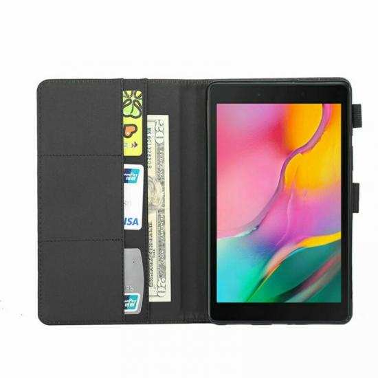 high quanlity For Samsung Galaxy Tab A7 10.4 Case Leather Folio Stand Flip Cover