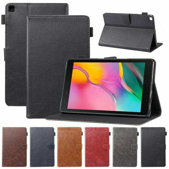 wholesale For Samsung Galaxy Tab A 10.1 10.5 S6 Lite S5e Case Leather Stand Tablet Cover