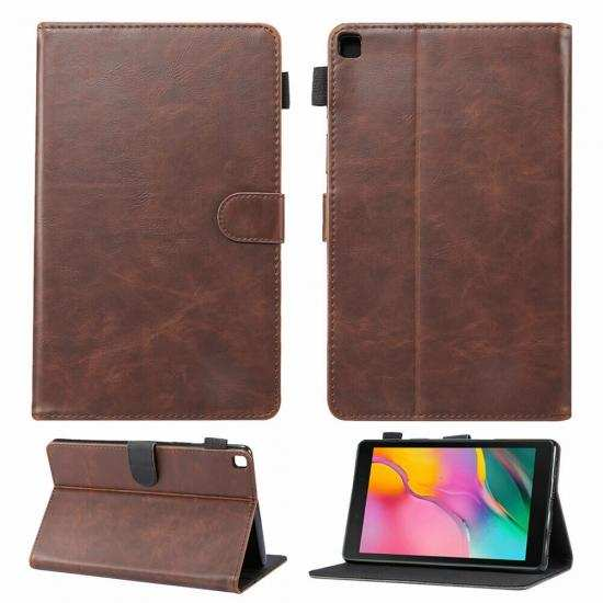 on sale For Samsung Galaxy Tab A7 10.4 Case Leather Folio Stand Flip Cover