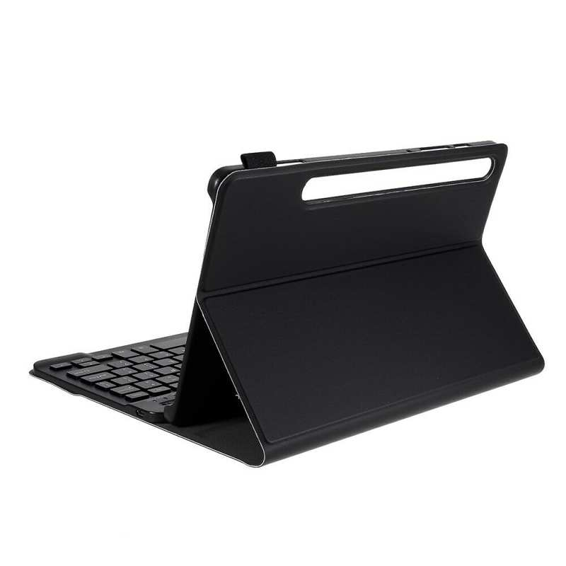 cheap For Samsung Galaxy Tab S6 10.5 SM-T860 T865 Keyboard Case Slim Stand Cover Black