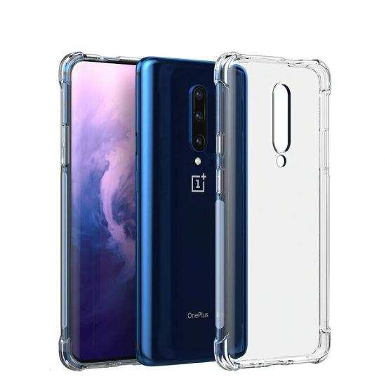 wholesale For Oneplus 7T 8 Pro McLaren Edition - Shockproof Clear Soft Case Cover