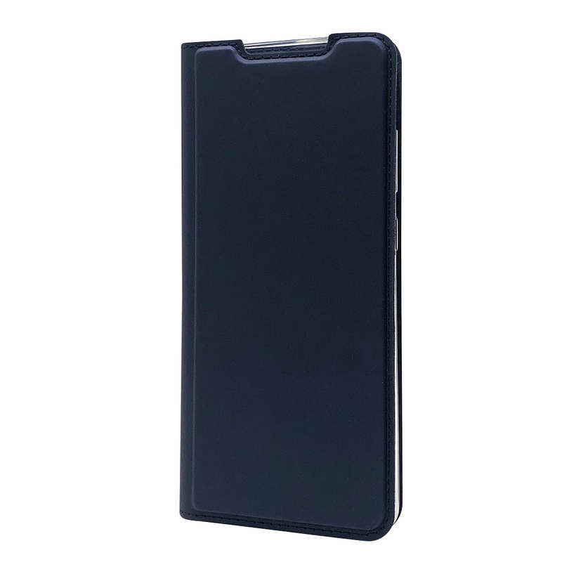best price For Samsung Galaxy S20 UItra - Case Magnetic Flip Leather Wallet Stand Cover - Dark Blue